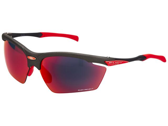 Rudy Project Agon Cykelbriller rød/sort